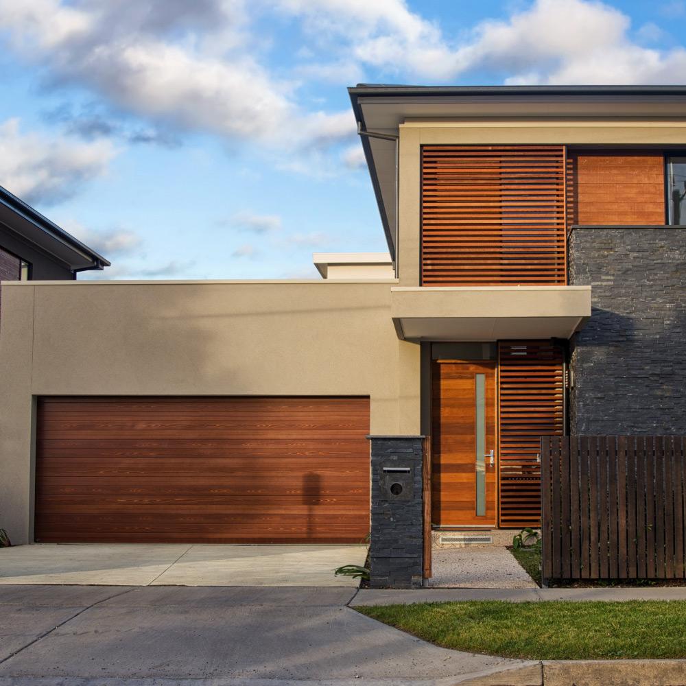 Aluminium Sectional Garage Door